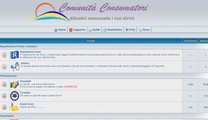 Comunità consumatori